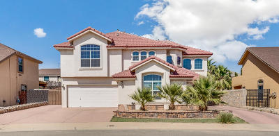 Horizon City Single Family Home For Sale: 416 Ghost Flower Street