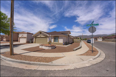 El Paso TX Single Family Home For Sale: $162,000