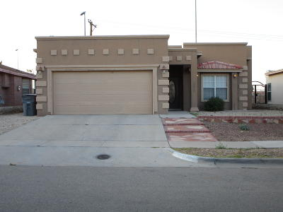 El Paso TX Single Family Home For Sale: $128,500