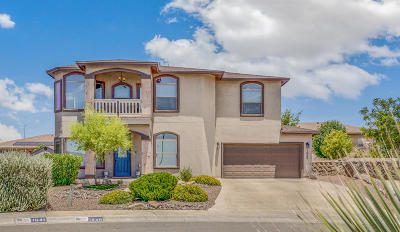 El Paso Single Family Home For Sale: 1645 Rayado Creek Lane