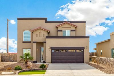 El Paso Single Family Home For Sale: 3125 Red Orchard Drive