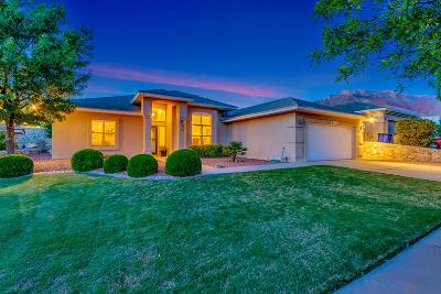 El Paso Single Family Home For Sale: 6105 Los Siglos Drive