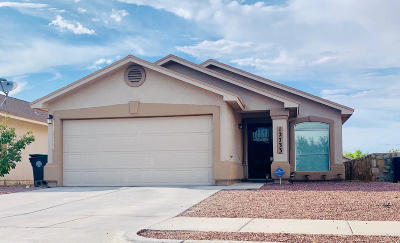 El Paso Single Family Home For Sale: 12733 Rodolfo Anchondo Court