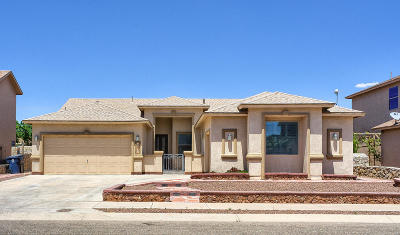 El Paso Single Family Home For Sale: 14437 Lacota Point Drive