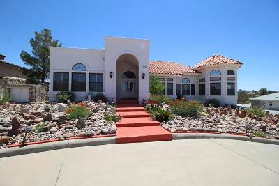 El Paso Single Family Home For Sale: 1320 Loma Verde Drive