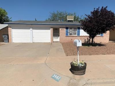 El Paso Single Family Home For Sale: 3001 Larry Wood Place