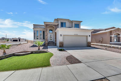 El Paso Single Family Home For Sale: 12420 Furlong Circle