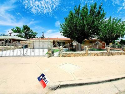 El Paso TX Single Family Home For Sale: $199,999