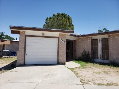 El Paso Multi Family Home For Sale: 2318 Cumbre Negra Street