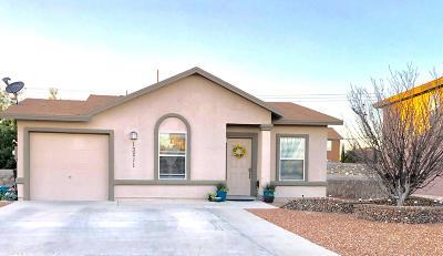 Horizon City Single Family Home For Sale: 13211 Walker Post Avenue