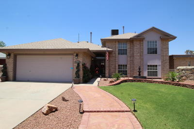 El Paso Single Family Home For Sale: 12401 Hidden Sun Court