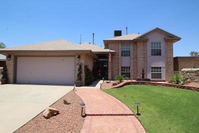 Single Family Home For Sale: 12401 Hidden Sun Court