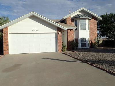 El Paso Single Family Home For Sale: 12128 New World