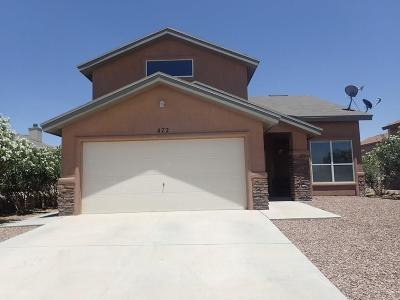 El Paso Single Family Home For Sale: 472 Southshore Place