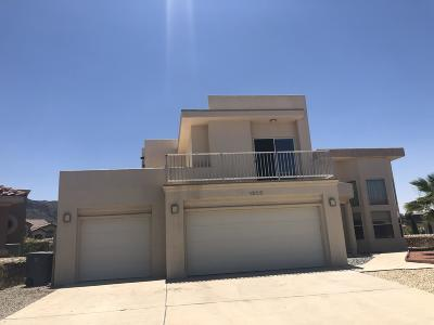 El Paso Single Family Home For Sale: 1208 Franklin Nook Way
