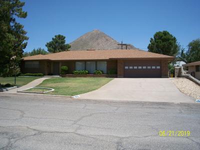 El Paso Single Family Home For Sale: 2619 Fillmore Avenue