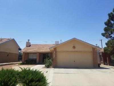 El Paso Single Family Home For Sale: 12238 Amstater Circle