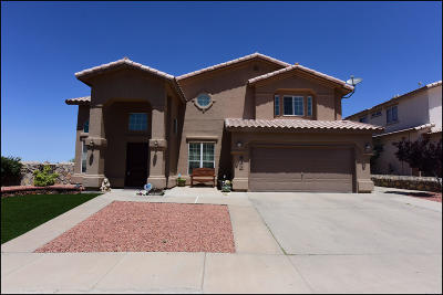 El Paso Single Family Home For Sale: 931 Via Descanso Drive