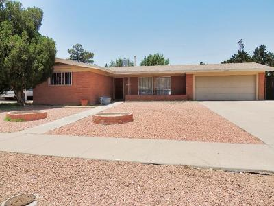 El Paso Single Family Home For Sale: 3109 Erica Street