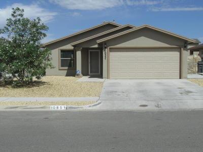 El Paso Single Family Home For Sale: 10557 Silvercloud Drive