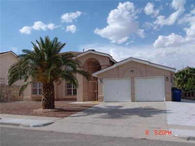 El Paso Single Family Home For Sale: 4245 John B Oblinger Drive