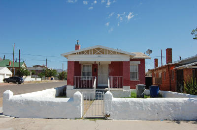 El Paso Single Family Home For Sale: 3101 E Missouri
