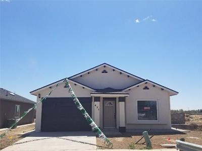 Socorro Single Family Home For Sale: 11640 Flor Achillea Drive