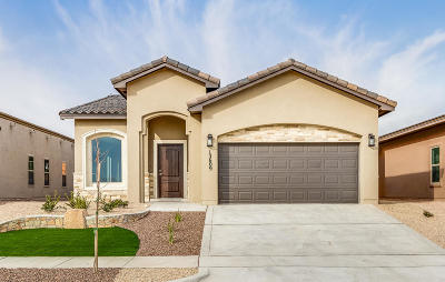 Horizon City Single Family Home For Sale: 1105 Painley Place