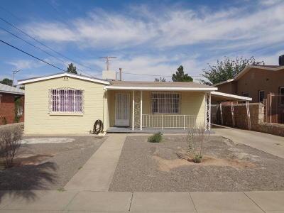 El Paso Single Family Home For Sale: 617 Loretto Road