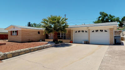 El Paso Single Family Home For Sale: 621 Westview Avenue