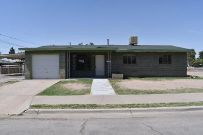 El Paso TX Single Family Home For Sale: $83,000