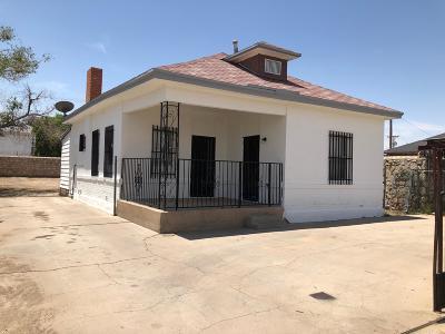 El Paso Single Family Home For Sale: 3324 Frutas Avenue