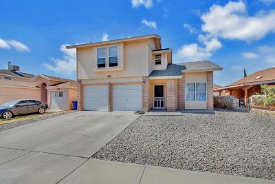 El Paso Single Family Home For Sale: 11776 Corona Crest Avenue