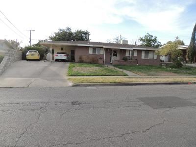 El Paso Single Family Home For Sale: 432 De Leon Drive