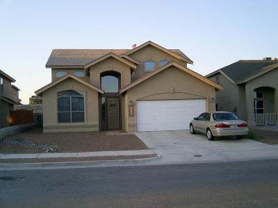 El Paso Rental For Rent: 13313 New Britton Drive