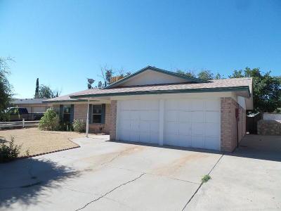El Paso TX Single Family Home For Sale: $103,000