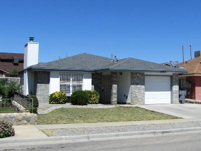 El Paso Single Family Home For Sale: 11065 Nathan Bay Drive