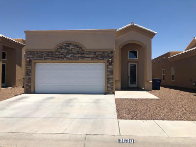 El Paso Single Family Home For Sale: 3638 Morgan Bay Place