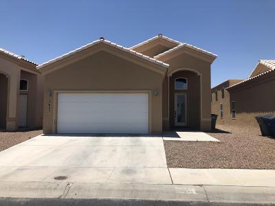 El Paso Single Family Home For Sale: 3627 Grand Bahamas Drive