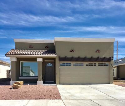 El Paso Single Family Home For Sale: 14354 Kayla Mia Drive