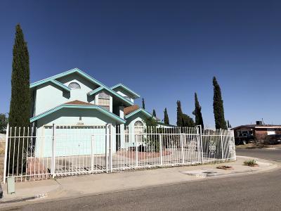El Paso Single Family Home For Sale: 3300 Hiawatha Drive