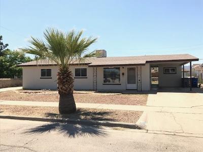 El Paso TX Single Family Home For Sale: $110,400
