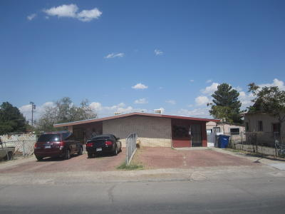 El Paso Single Family Home For Sale: 450 Val Verde Street