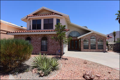 El Paso TX Single Family Home For Sale: $260,000