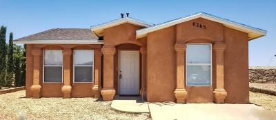 El Paso TX Single Family Home For Sale: $81,500