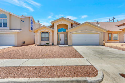 El Paso Single Family Home For Sale: 10937 Northview Drive