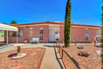 El Paso TX Single Family Home For Sale: $139,999