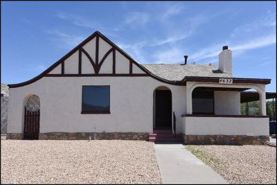 Single Family Home For Sale: 4632 Caples Circle