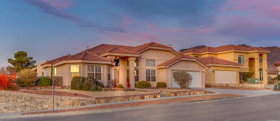 El Paso Single Family Home For Sale: 6697 Pearl Ridge Drive