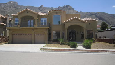 El Paso Single Family Home For Auction: 5608 Eagle Point Street